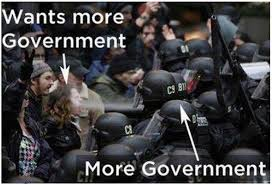 Wants more government